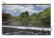 The Riverside And Weir - Bakewell Carry-all Pouch