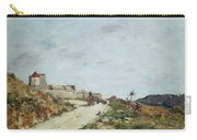 The Road To The Citadel At Villefranche Carry-all Pouch