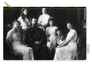 The Romanovs, Russian Tsar With Family Carry-all Pouch