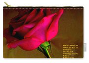 The Rose And Thorn Carry-all Pouch