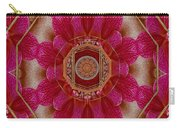The Sacred Orchid Mandala Carry-all Pouch