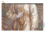 The Salutation  Carry-all Pouch by Dante Charles Gabriel Rossetti