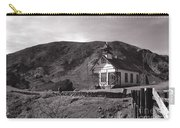 The Schoolhouse In Calico Ghost Town California Carry-all Pouch by Susanne Van Hulst