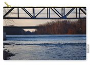 The Schuylkill River At Bridgeport Carry-all Pouch
