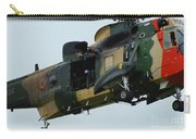 The Sea King Helicopter In Use Carry-all Pouch by Luc De Jaeger