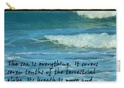 The Sea Poster Carry-all Pouch