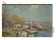 The Seine At Port-marly Carry-all Pouch by Alfred Sisley