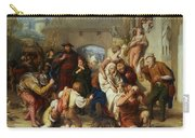 The Seven Ages Of Man Carry-all Pouch by William Mulready