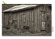 The Shed Sepia Carry-all Pouch by Steve Harrington