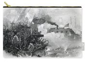 The Sinking Of The Cumberland, 1862 Carry-all Pouch