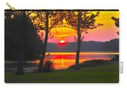 The Smiling Face Sunset Carry-all Pouch