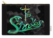 The Snakes Live In Europe Carry-all Pouch