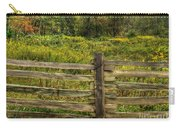 The Split Rail Meadow Carry-all Pouch by Benanne Stiens