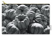 The Squash Harvest In Black And White Carry-all Pouch