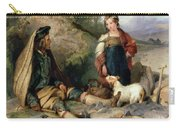 The Stone Breaker And His Daughter Carry-all Pouch