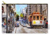 The Streets Of San Francisco . 7d7263 Carry-all Pouch