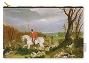 The Suffolk Hunt - Going To Cover Near Herringswell Carry-all Pouch