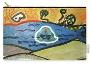 The Sun And A Boat Painting Carry-all Pouch