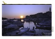 The Sun Goes Down In Rovinj Carry-all Pouch