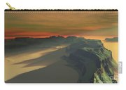 The Sun Sets On This Desert Landscape Carry-all Pouch