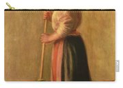 The Sweeper Carry-all Pouch by Pierre Auguste Renoir