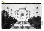 The Taj Mahal In Agra India - C 1906 Carry-all Pouch