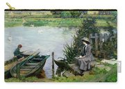 The Thames At Benson Carry-all Pouch