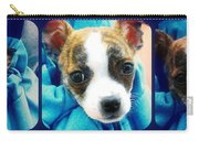 The Three Amigos Teacup Chihuahua Carry-all Pouch