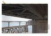 The Three Benicia-martinez Bridges In California - 5d18844 Carry-all Pouch
