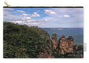 The Three Sisters - The Blue Mountains Carry-all Pouch