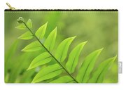 The Tip Of A Fern Carry-all Pouch