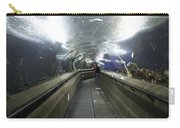 The Travelator At The Underwater World In Sentosa In Singapore Carry-all Pouch