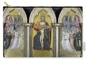 The Trinity With Angels Carry-all Pouch by Granger