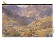 The Val D'aosta Carry-all Pouch