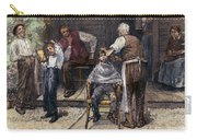 The Village Barber, 1883 Carry-all Pouch