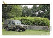 The Vw Iltis Jeep Used By The Belgian Carry-all Pouch by Luc De Jaeger