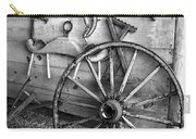 The Wagon Wheel Bw Carry-all Pouch