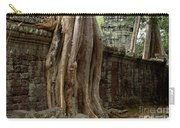 The Wall At Ta Prohm Carry-all Pouch