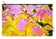 The Warm Glow In Autumn Abstract Carry-all Pouch