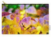 The Warmth Of Autumn Glow Abstract Carry-all Pouch