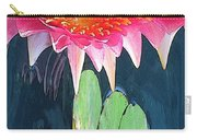 The Water Lily Unleashed Carry-all Pouch