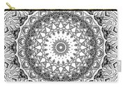 The White Mandala No. 2 Carry-all Pouch