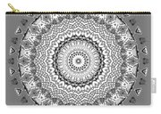 The White Mandala No. 5 Carry-all Pouch