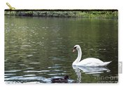 The White Swan Carry-all Pouch