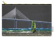 The Wind Surfer Carry-all Pouch by David Lee Thompson