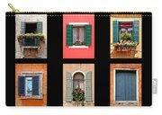 The Windows Of Venice Carry-all Pouch