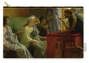 The Wine Shop Carry-all Pouch by Sir Lawrence Alma-Tadema