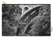 The Wissahickon Creek And Henry Avenue Bridge Carry-all Pouch