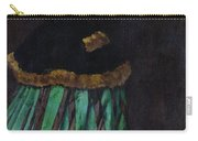 The Woman In The Green Dress Carry-all Pouch