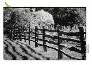 The Wooden Fence Carry-all Pouch